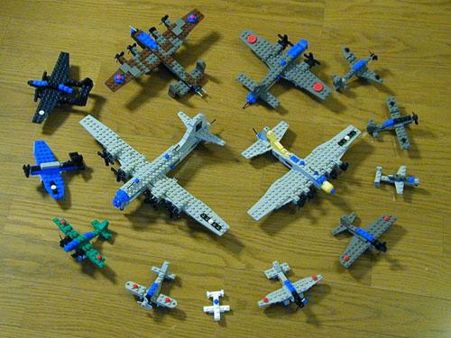 Airplane museum - Avion de chasse en lego ...